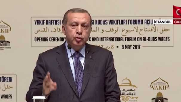 Cumhurbaşkanı Erdoğan: Kudüs aşktır, hasrettir