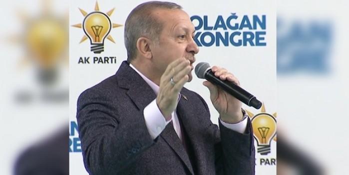 CUMHURBAŞKANI ERDOĞAN 'KUDÜS' ŞİİRİNİ OKUDU
