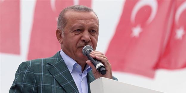 Cumhurbaşkanı Erdoğan: Kuru gürültüye papuç bırakmadık