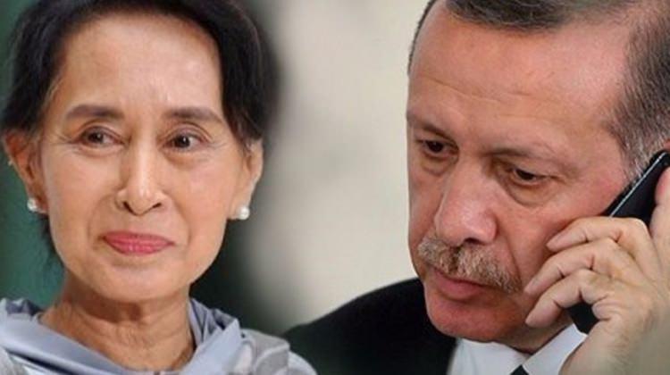 Cumhurbaşkanı Erdoğan, Myanmar liderini uyardı! Dokunmayın