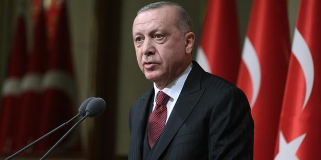 Cumhurbaşkanı Erdoğan ne dedi son dakika haberler