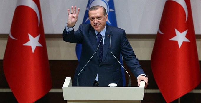 Cumhurbaşkanı Erdoğan o sloganı istemedi