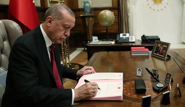 Cumhurbaşkanı Erdoğan onayladı! 5 atama kararı