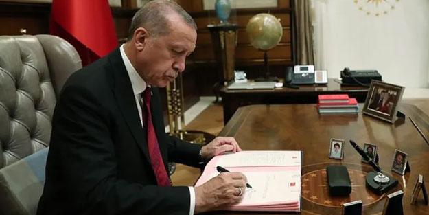 Karar resmen açıklandı! Cumhurbaşkanı Erdoğan onayladı