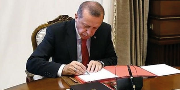 Cumhurbaşkanı Erdoğan'dan önemli atama