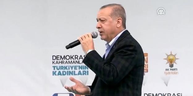 Cumhurbaşkanı Erdoğan oynanan yeni oyunu açıkladı