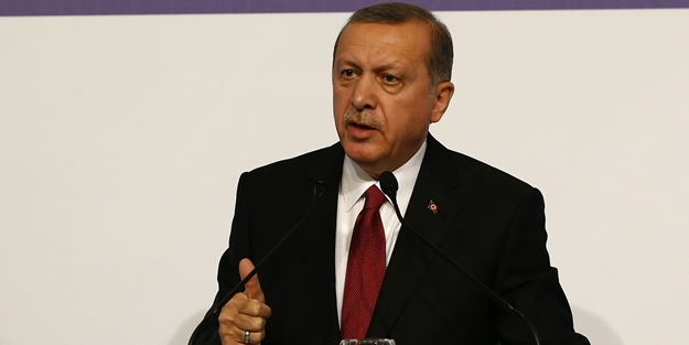 Cumhurbaşkanı Erdoğan Paris'te konuştu