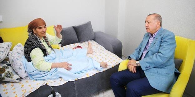 Cumhurbaşkanı Erdoğan, Raife ninenin son arzusunu kırmadı