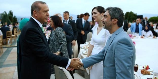Erdoğan iftar verdi! İşte katılan ünlüler...