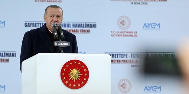Cumhurbaşkanı Erdoğan son noktayı koydu: Kör düşmanlık yapanlara rağmen tamamlayacağız