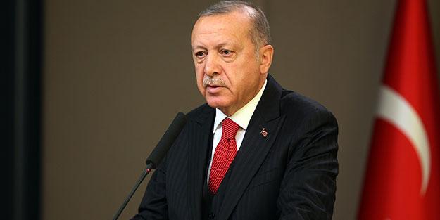 Cumhurbaşkanı Erdoğan'dan Barış Pınarı Harekatı mesajı