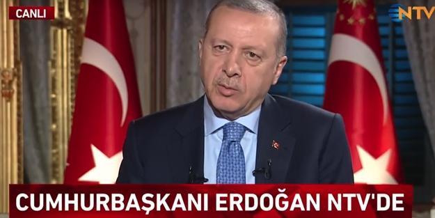 Cumhurbaşkanı Erdoğan: Faizi indirdiğimiz anda...