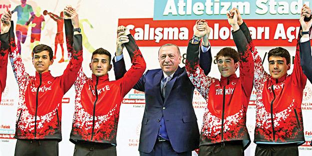 Cumhurbaşkanı Erdoğan: Sorumluluk sahibi gençliğe ihtiyacımız var
