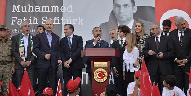 Cumhurbaşkanı Erdoğan törene video konferansla bağlandı
