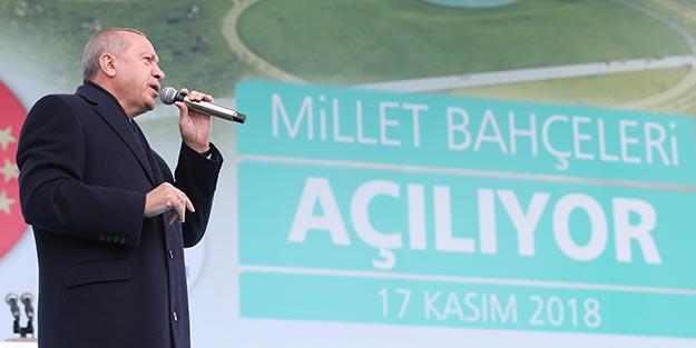 Cumhurbaşkanı Erdoğan: Türkiye azgın azınlığın oyunlarına gelmez!