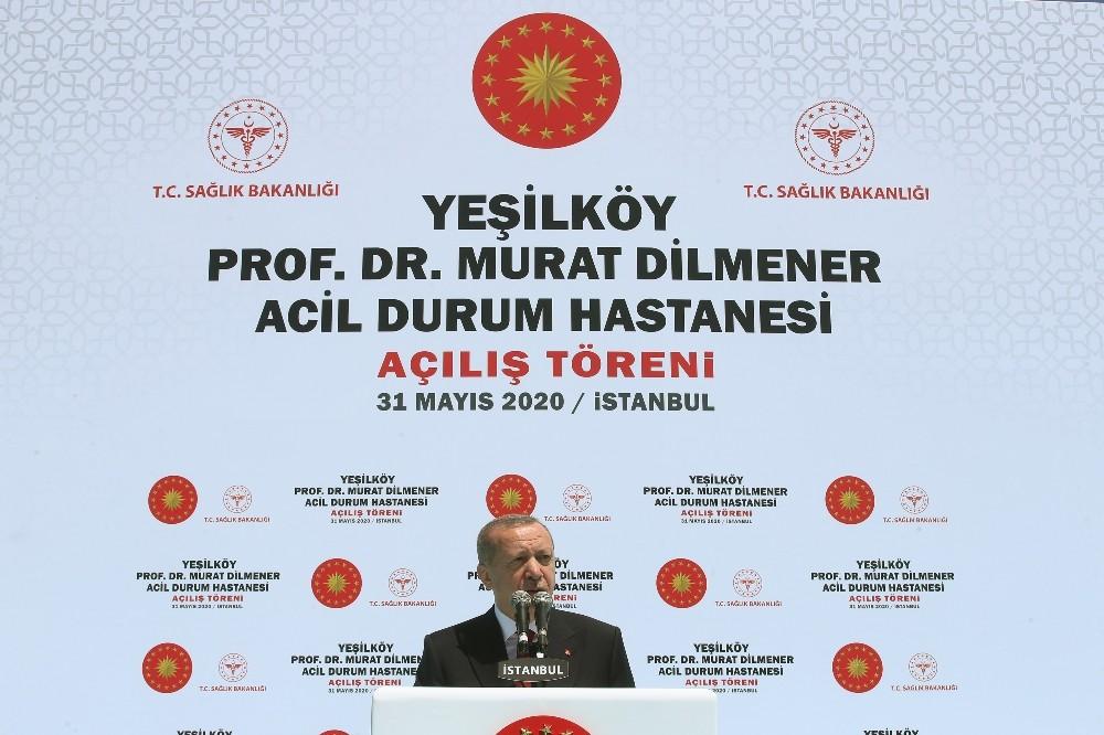 """Cumhurbaşkanı Erdoğan: """"Türkiye'nin ihtiyacı kavga değil eser siyasetidir"""""""