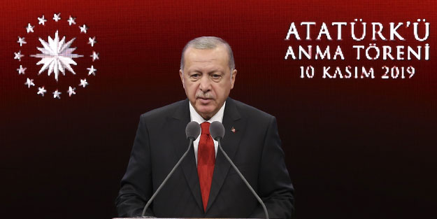 Cumhurbaşkanı Erdoğan: Ülkemizde yıllardır en büyük ticaret Atatürk ve cumhuriyet ticaretidir