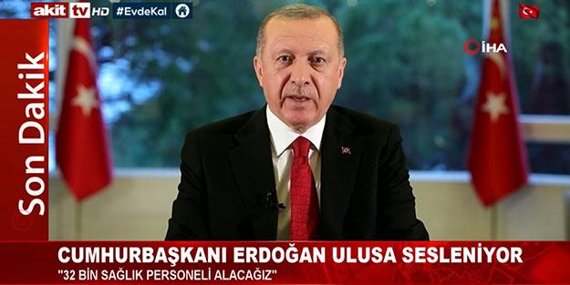 Cumhurbaşkanı Erdoğan, millete seslendi: 53 bin vatandaşımızı izlemeye aldık