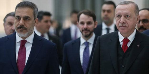 Cumhurbaşkanı Erdoğan ve Hakan Fidan'dan sürpriz görüşme