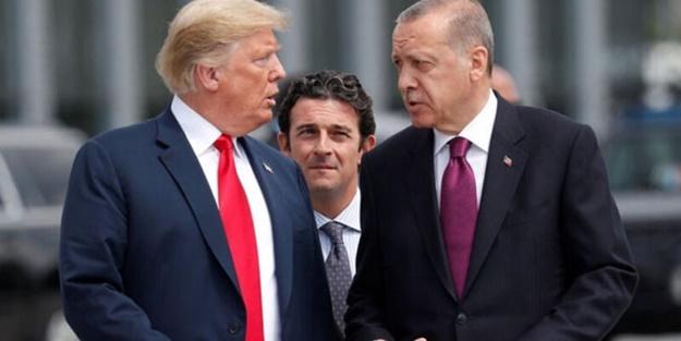 Cumhurbaşkanı Erdoğan ve Trump arasındaki kritik görüşme
