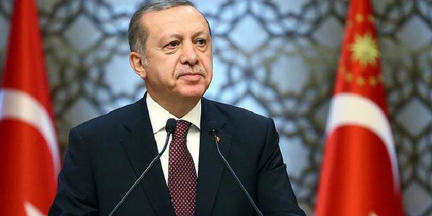 Cumhurbaşkanı Erdoğan'a tebrik mektubu