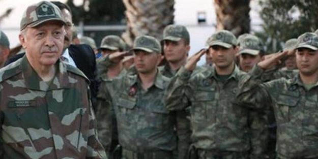 Cumhurbaşkanı Erdoğan'dan askerlere müjde