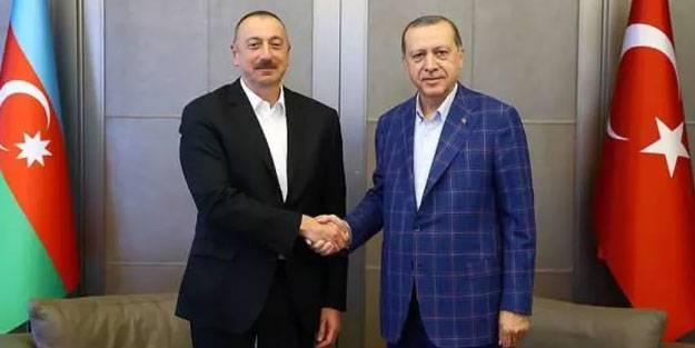 Cumhurbaşkanı Erdoğan'dan Azerbaycan paylaşımı