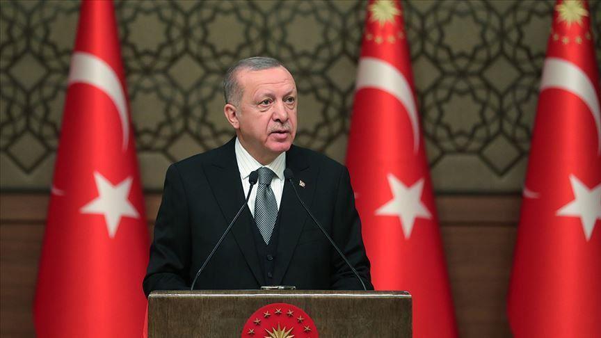 Cumhurbaşkanı Erdoğan'dan çığ düşmesi ve uçak kazasına ilişkin paylaşım