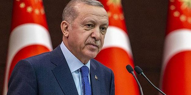 Cumhurbaşkanı Erdoğan'dan 'demokratik ve ekonomik gelişim' mesajı