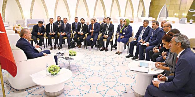 Cumhurbaşkanı Erdoğan'dan flaş açıklamalar: MHP ile her adımı atmaya hazırız