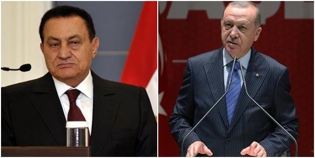 Erdoğan'dan 'Hüsnü Mübarek' için çarpıcı sözler