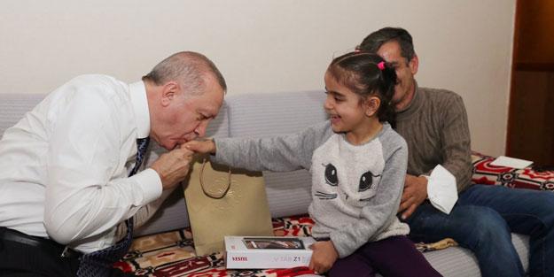 Cumhurbaşkanı Erdoğan'dan iftar sürprizi