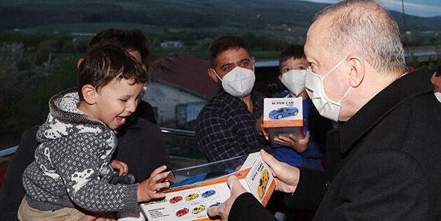 Cumhurbaşkanı Erdoğan'dan iftar ziyareti