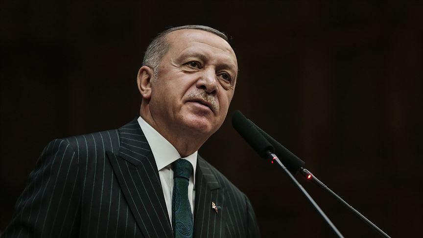 Cumhurbaşkanı Erdoğan'dan 'İstiklal Marşı' mesajı