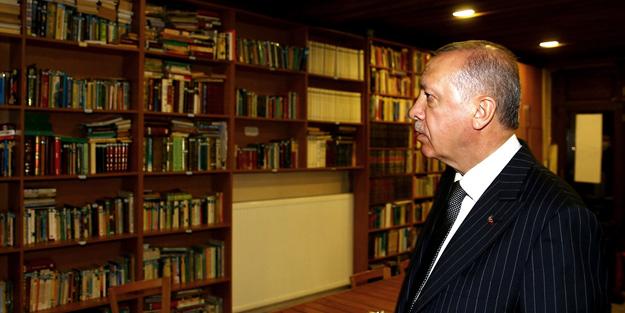 Cumhurbaşkanı Erdoğan'dan kıraathane ziyareti!
