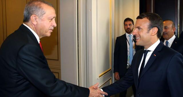 Cumhurbaşkanı Erdoğan'dan Macron'a tokat gibi cevap