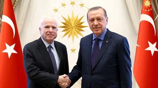 Cumhurbaşkanı Erdoğan'dan McCain'e tokat gibi YPG yanıtı