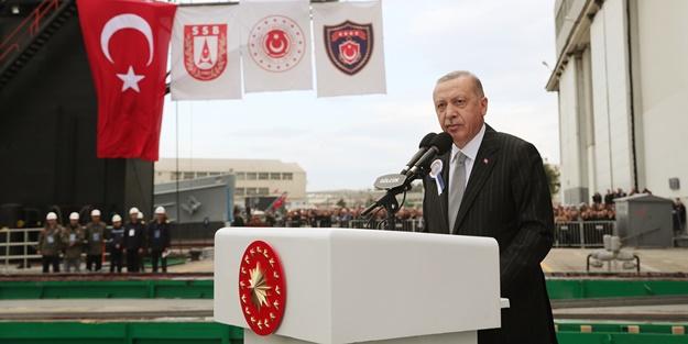Cumhurbaşkanı Erdoğan: Kimse bu niyetle karşımıza gelmesin