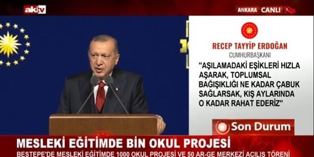 Cumhurbaşkanı Erdoğan peş peşe müjdeleri paylaştı!