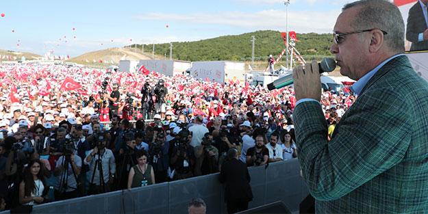 Cumhurbaşkanı Erdoğan'dan operasyon sinyali: Gireceğiz!