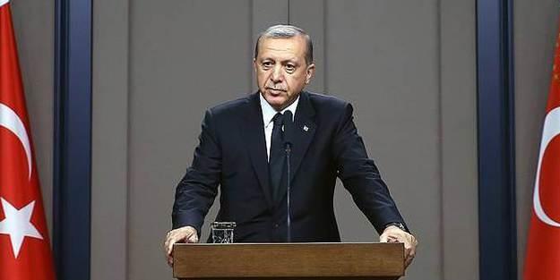 Cumhurbaşkanı Erdoğan'dan sürpriz kabul