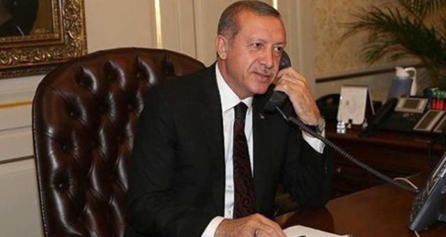CUMHURBAŞKANI ERDOĞAN'DAN TELEFON SÜRPRİZİ