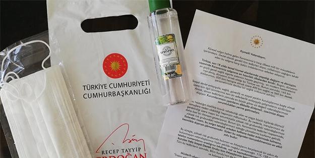 Cumhurbaşkanı Erdoğan'dan vatandaşlara mektup