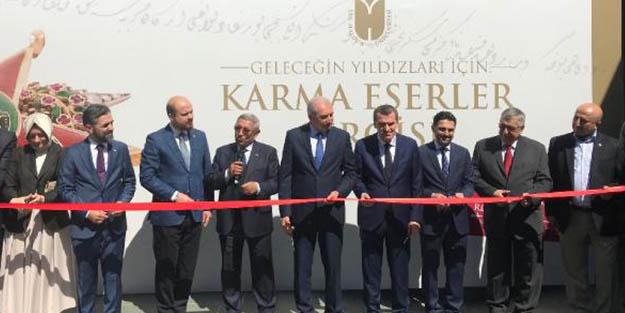 Cumhurbaşkanı Erdoğan'ın kişisel koleksiyonundan da parçaların yer aldığı sergi açıldı!
