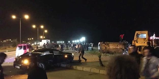 Cumhurbaşkanı Erdoğan'ın koruma ekibi kaza yaptı… Yaralılar var