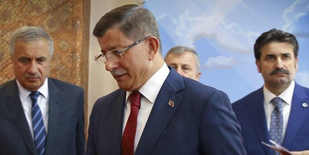 Cumhurbaşkanı Erdoğan'ın tepki gösterdiği Ahmet Davutoğlu'nun adresi belli oldu