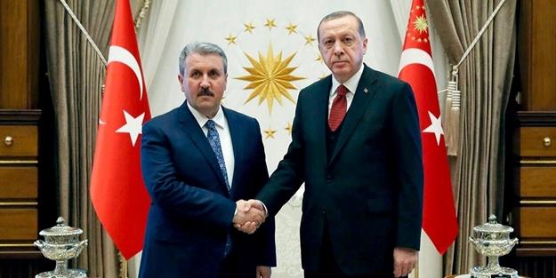 Cumhurbaşkanı Erdoğan'la Destici'den flaş karar!