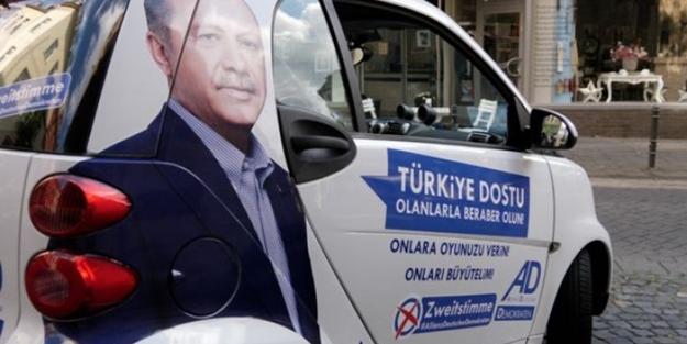 Cumhurbaşkanı Erdoğan'lı seçim kampanyası