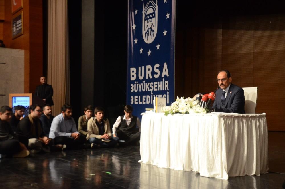 Cumhurbaşkanı Sözcüsü İbrahim Kalın:
