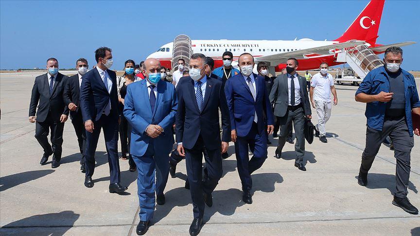 Cumhurbaşkanı Yardımcısı Fuat Oktay Lübnan'da